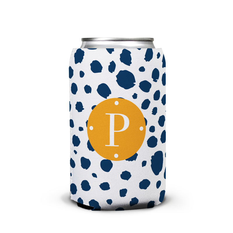 Cheetah Personalized Can Koozie
