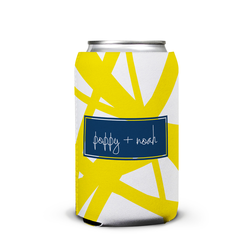 Pick Up Stix Personalized Can Koozie