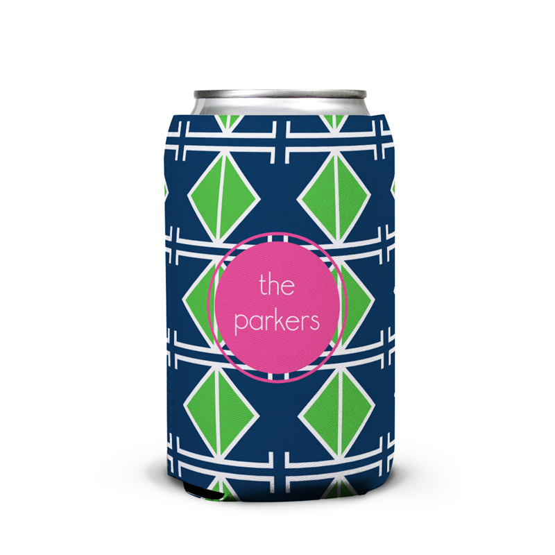 Table Tennis Personalized Can Koozie