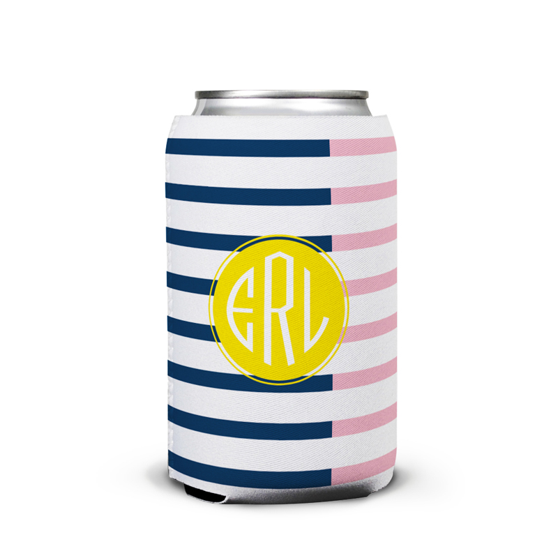Twice As Nice 3 Personalized Can Koozie