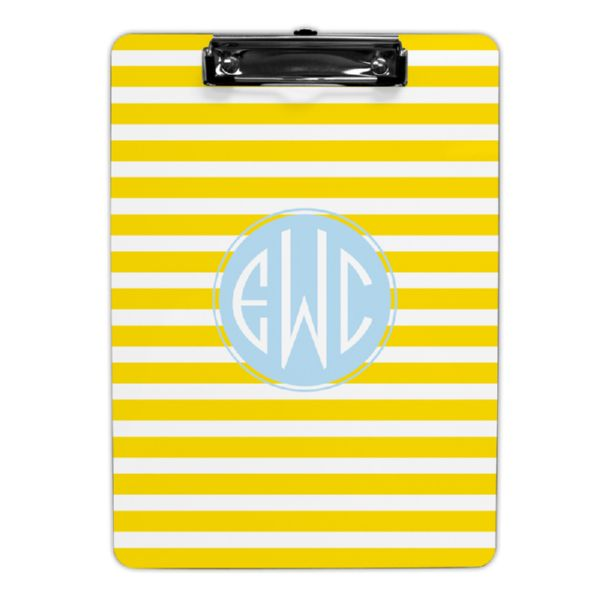Cabana Personalized Clipboard 9x12