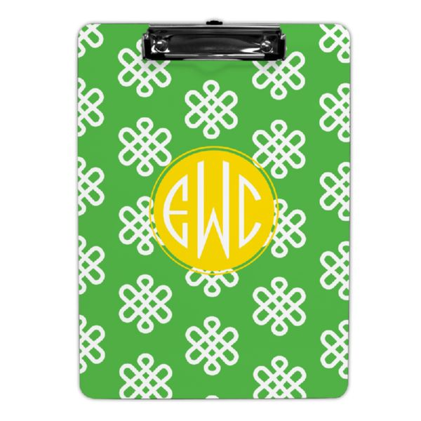 Clementine Personalized Clipboard 9x12