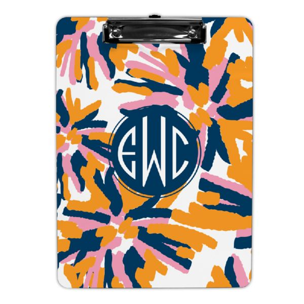 Fireworks Personalized Clipboard 9x12