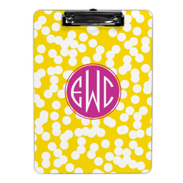 Hole Punch Personalized Clipboard 9x12