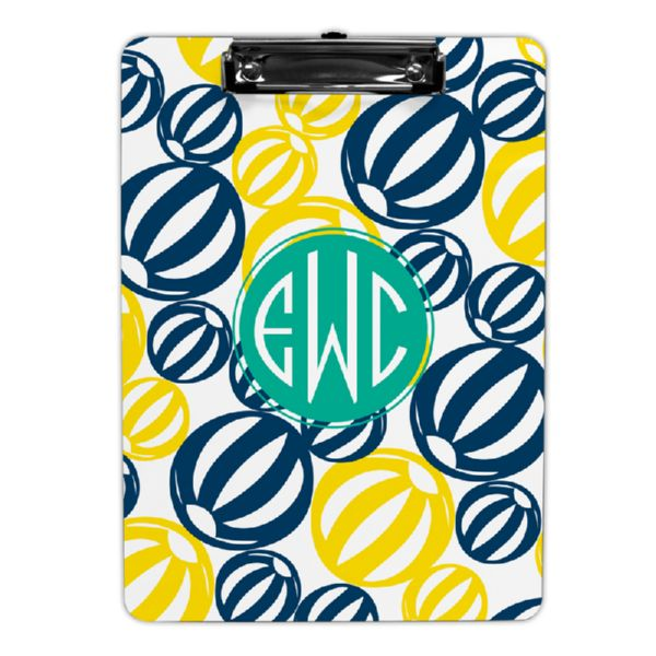 Palm Springs Personalized Clipboard 9x12