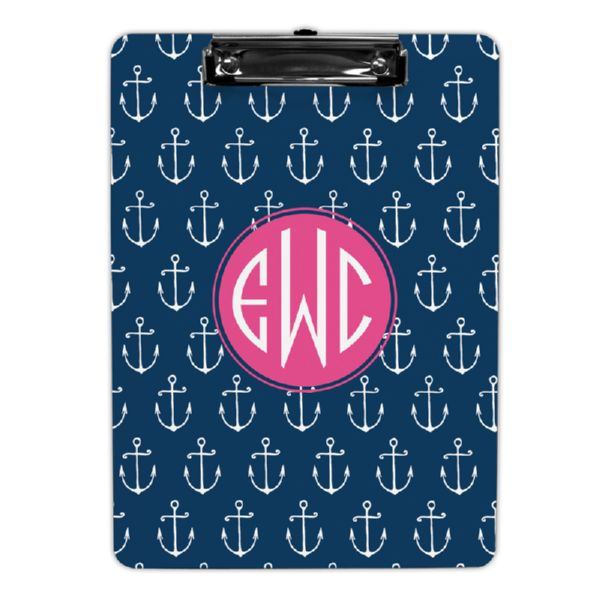 Salty Personalized Clipboard 9x12