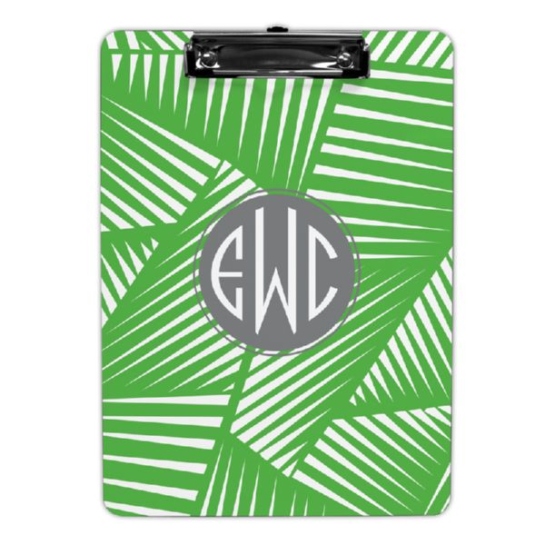 Palm Personalized Clipboard 9x12