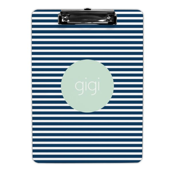 Cabana 3 Personalized Clipboard 9x12