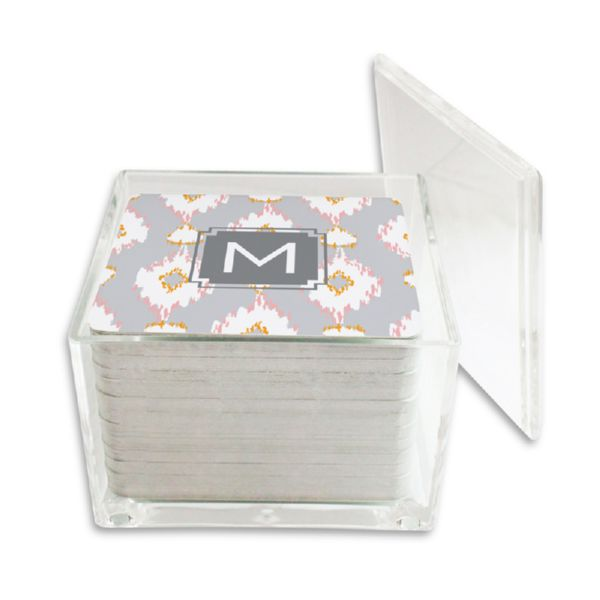 Mirage Personalized Paper Drink Coasters (125 in holder)