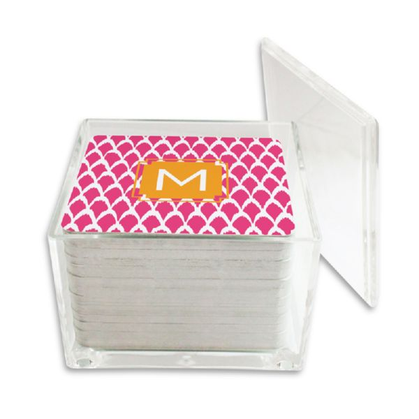 Northfork Personalized Paper Drink Coasters (125 in holder)