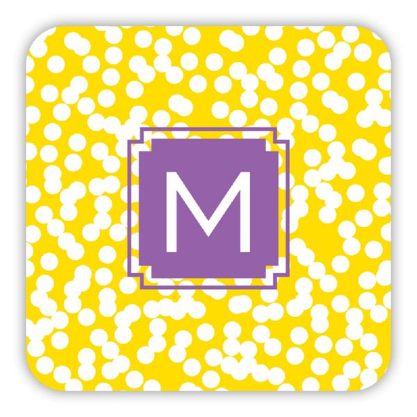 Hole Punch Personalized Paper Drink Coasters (125)