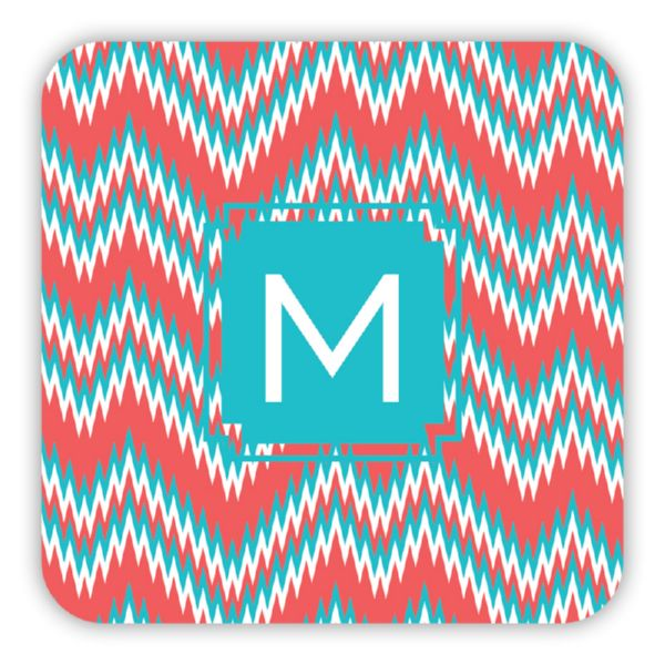Mission Fabulous Personalized Paper Drink Coasters (125)