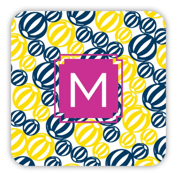 Palm Springs Personalized Paper Drink Coasters (125)