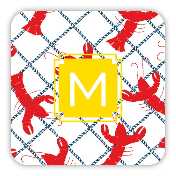 Rock Lobster Personalized Paper Drink Coasters (125)