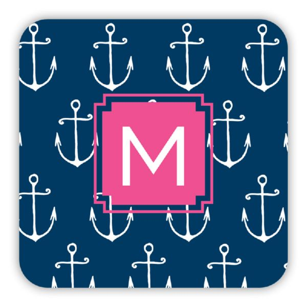 Salty Personalized Paper Drink Coasters (125)
