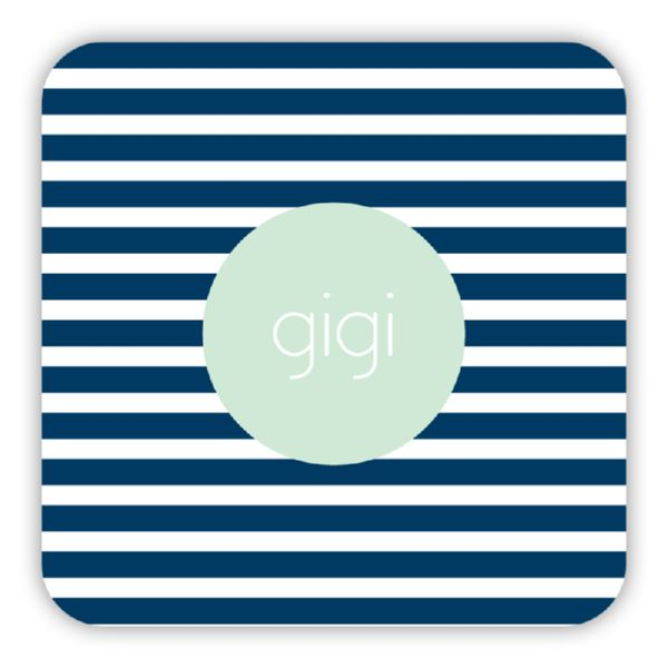 Cabana 3 Personalized Paper Drink Coasters (125)