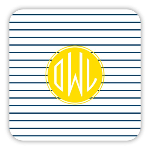 Pinny Personalized Paper Drink Coasters (125)