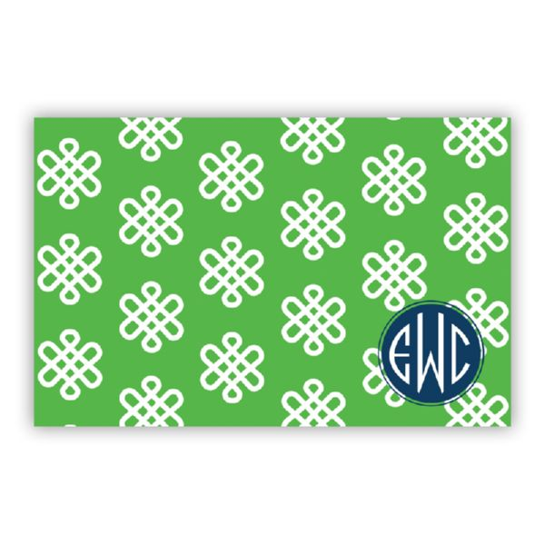 Clementine Personalized Disposable Placemat Pad (25 sheets)
