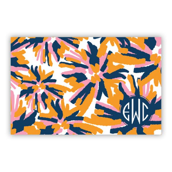 Fireworks Personalized Disposable Placemat Pad (25 sheets)