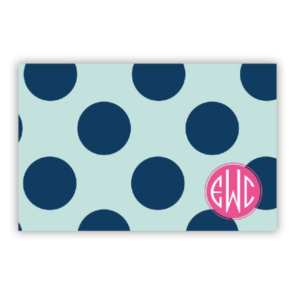 Jane Personalized Disposable Placemat Pad (25 sheets)