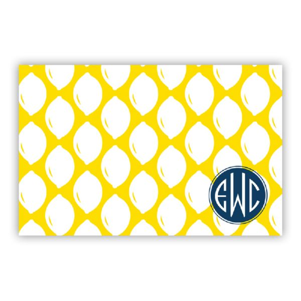Meyer Personalized Disposable Placemat Pad (25 sheets)