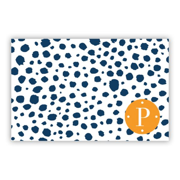 Cheetah Personalized Disposable Placemat Pad (25 sheets)