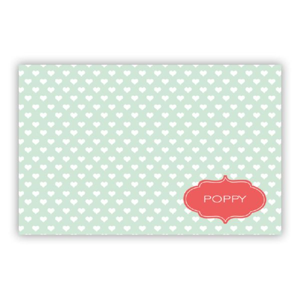 Minnie Personalized Disposable Placemat Pad (25 sheets)