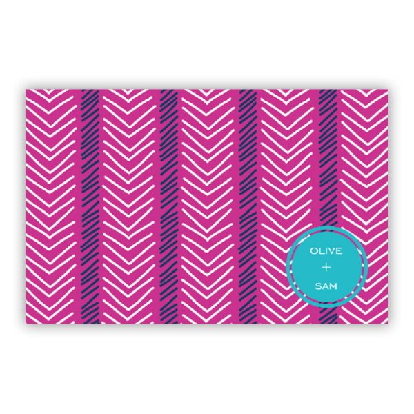 Topstitch Personalized Disposable Placemat Pad (25 sheets)