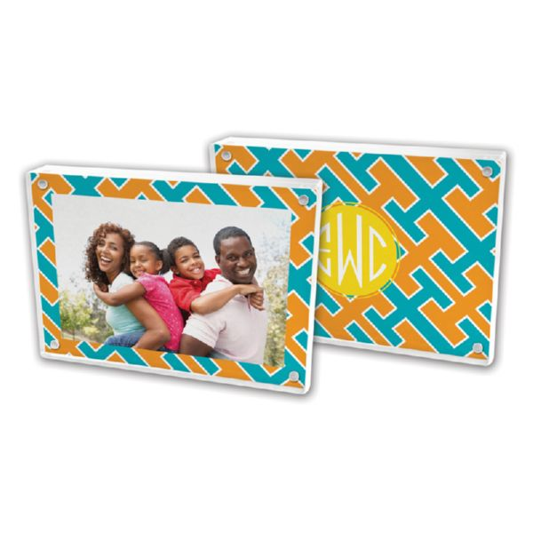 Acapulco Personalized 5x7 Picture Frame (Lucite)