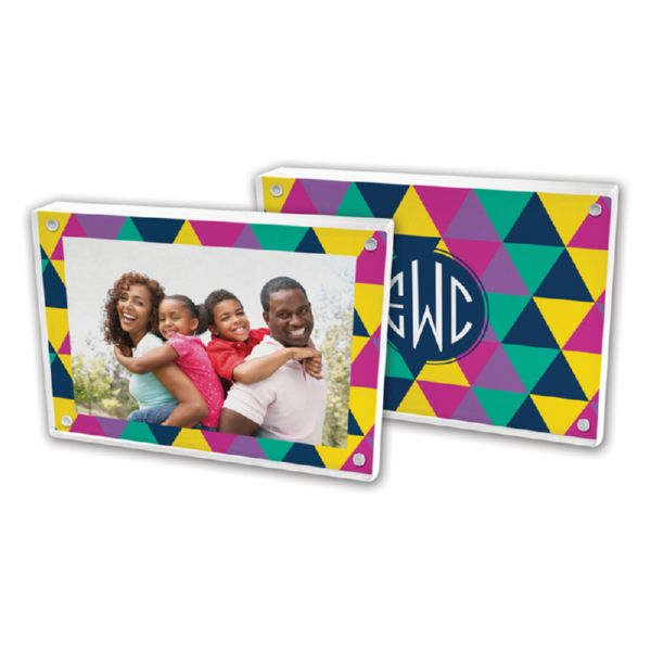 Acute Personalized 5x7 Picture Frame (Lucite)