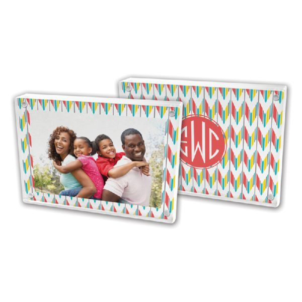Arrowhead Personalized 5x7 Picture Frame (Lucite)