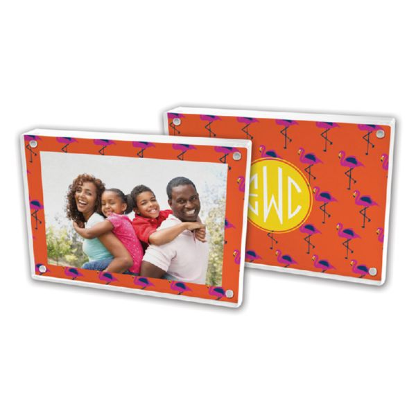 Hadley Personalized 5x7 Picture Frame (Lucite)
