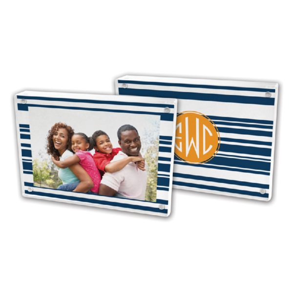 Block Island Personalized 5x7 Picture Frame (Lucite)