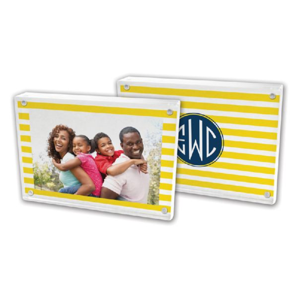 Cabana Personalized 5x7 Picture Frame (Lucite)