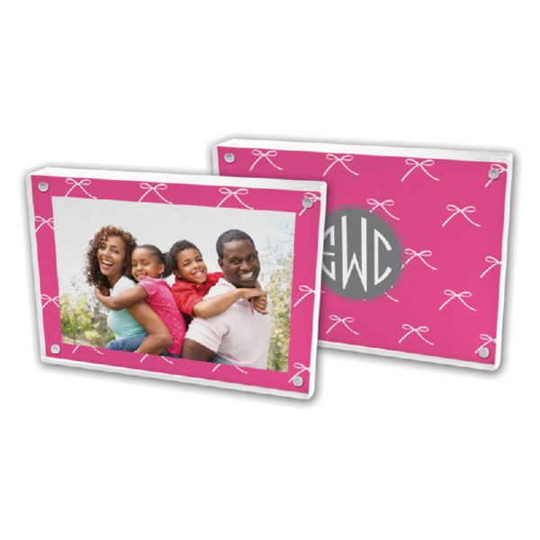 Chloe Personalized 5x7 Picture Frame (Lucite)