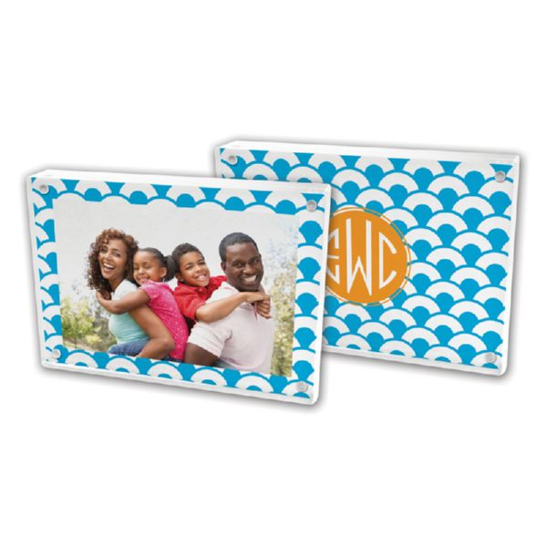 Coins Personalized 5x7 Picture Frame (Lucite)