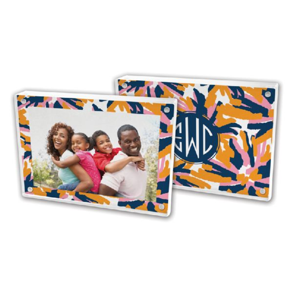 Fireworks Personalized 5x7 Picture Frame (Lucite)