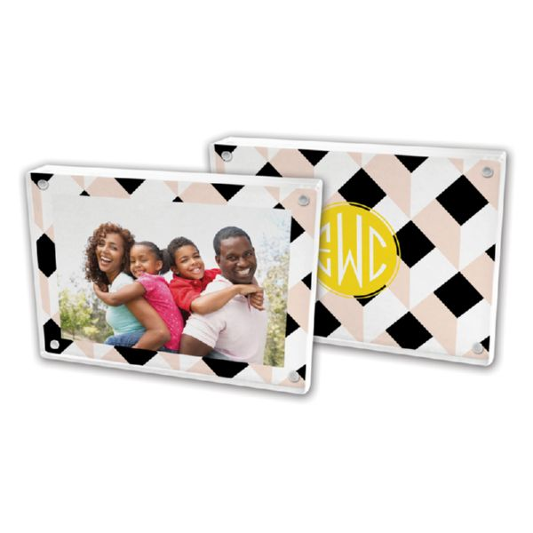 Golden Girl Personalized 5x7 Picture Frame (Lucite)