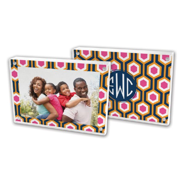 London Calling Personalized 5x7 Picture Frame (Lucite)