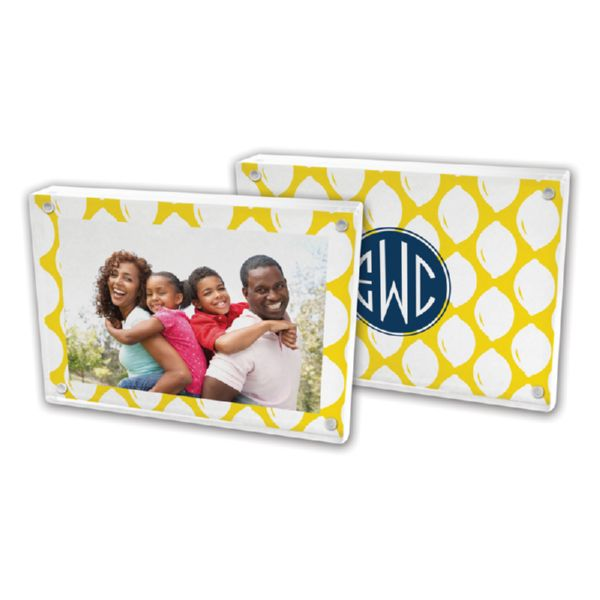 Meyer Personalized 5x7 Picture Frame (Lucite)