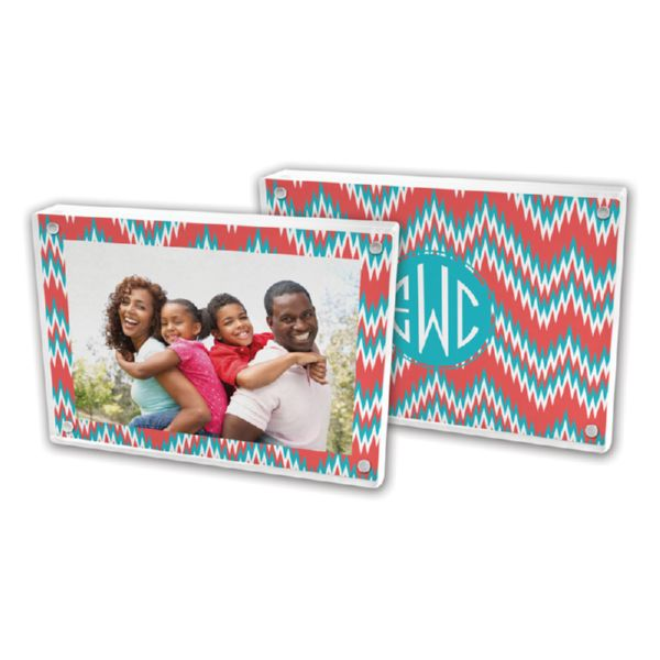 Mission Fabulous Personalized 5x7 Picture Frame (Lucite)