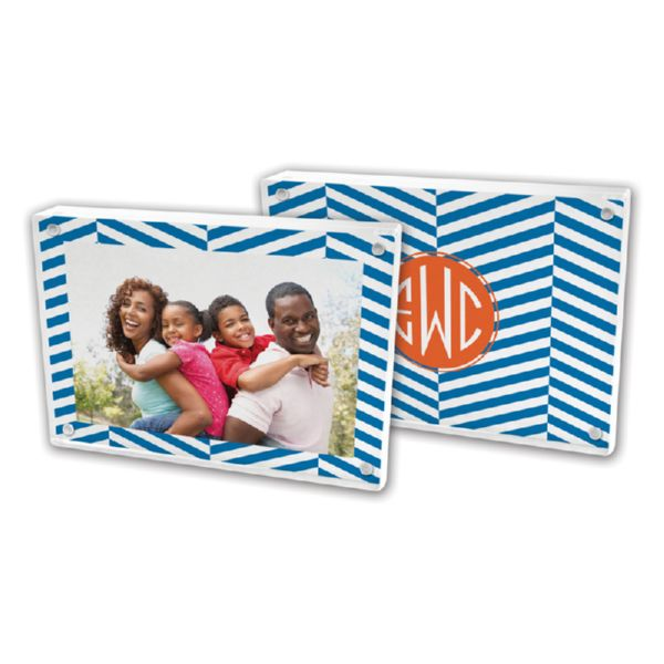 Perspective Personalized 5x7 Picture Frame (Lucite)