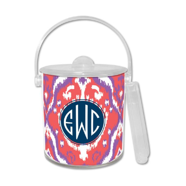 Elsie Personalized Ice Bucket with Tongs