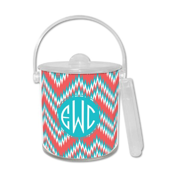 Mission Fabulous Personalized Ice Bucket with Tongs