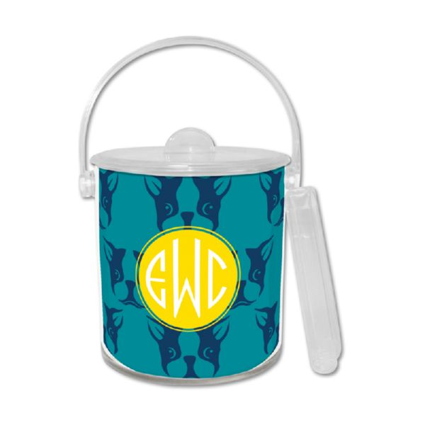 Polly Personalized Ice Bucket with Tongs