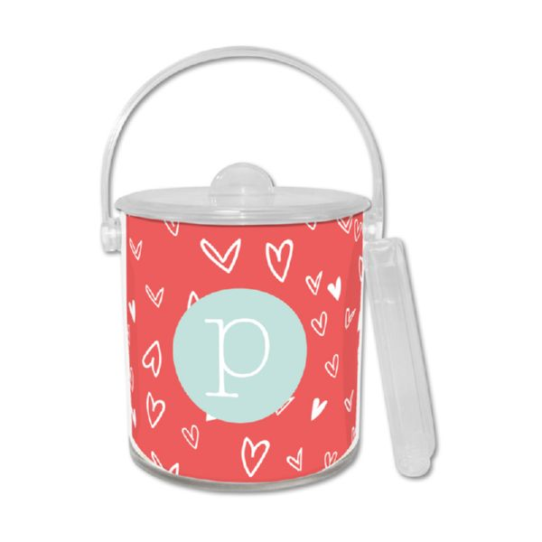 Love It Personalized Ice Bucket with Tongs