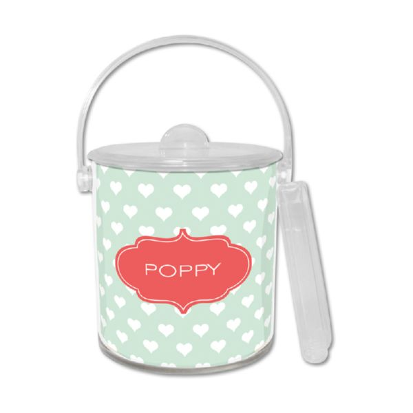 Minnie Personalized Ice Bucket with Tongs