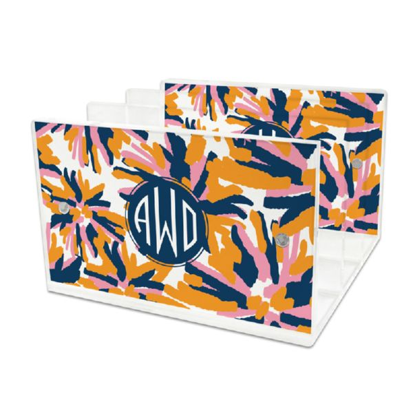 Fireworks Personalized Lucite Letter Tray, 2 inserts