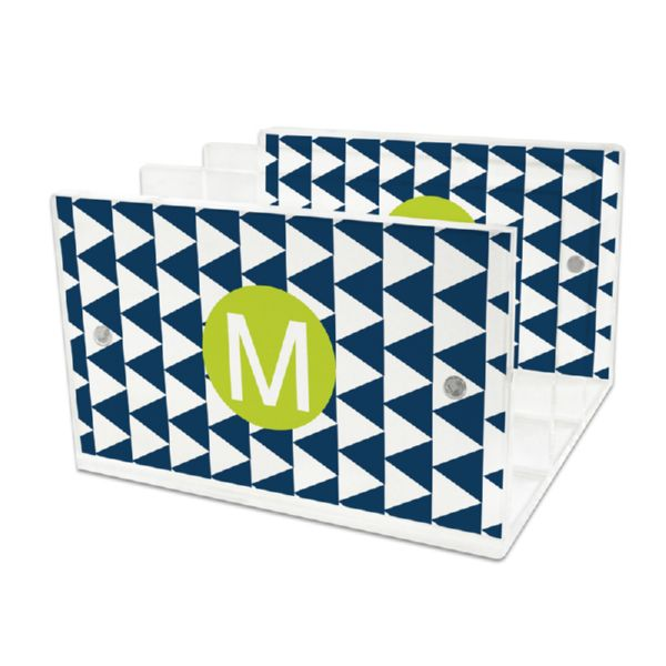Try Me Personalized Lucite Letter Tray, 2 inserts