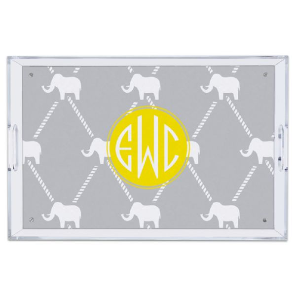 Dumbo Personalized Large Serving Tray (Lucite)